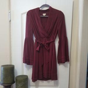 Burgundy  Mini Dress - Like New